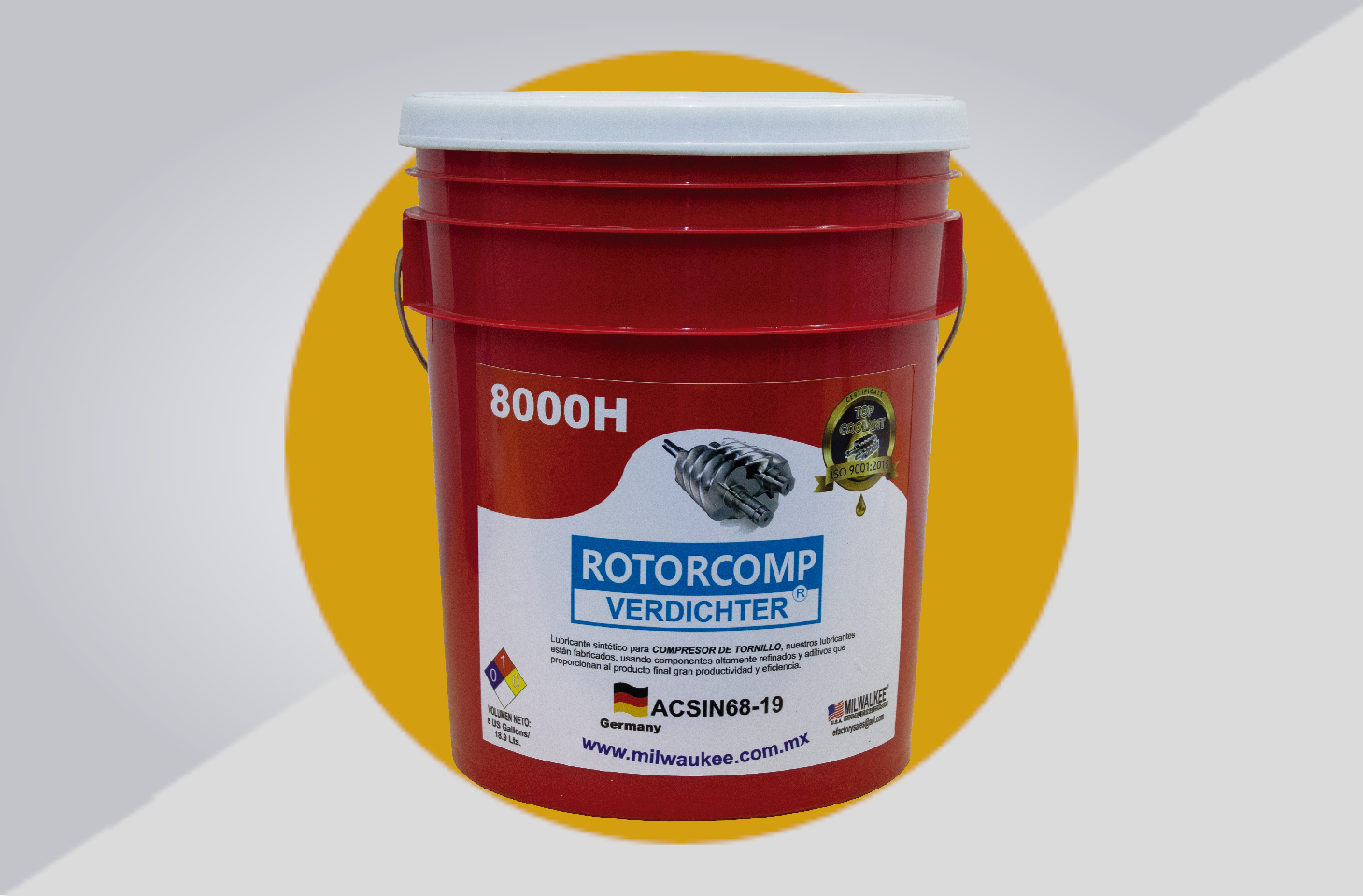Rotorcomp Verdichter 8000H